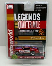 Auto World Tom The Mongoose McEwen 1970 Plymouth Duster Ho Slot Car Sc356-2