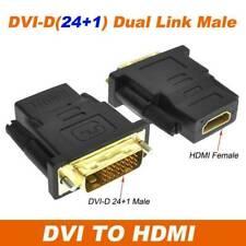HDMI Female To Female/VGA Male/HDMI Male/24+1Pin DVI Male Adapter Connector HDTV