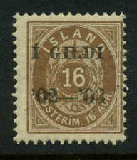 Iceland  Scott #55 Facit #54 Mint Never Hinged MNH Cats $70