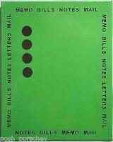 LARGE METAL LIME GREEN MAGNETIC MEMO NOTICE PLANNER ORGANISER MESSAGE BOARD