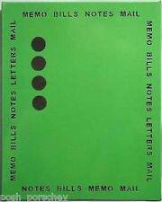 Large métal vert citron magnétique mémo avis planner organisateur message board