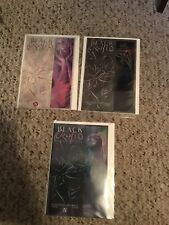 Blck Orchid Graphic Novel Books 1, 2, And 3 By Neil Gaiman And Dave McKean