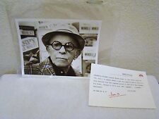 Oh, God! NBC Still Photo of George Burns, Measures 7 x 9 for an 8 x 10 Frame