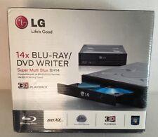 LG 14x Blu Ray DVD Writer Super Multi Blue BH14NS40