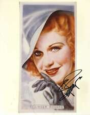GINGER ROGERS PSA/DNA COA SIGNED 8X10 PHOTO AUTHENTICATED AUTOGRAPH