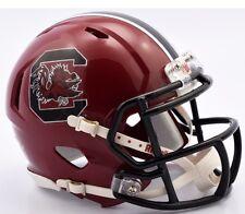 SOUTH CAROLINA GAMECOCKS Alt Garnet NCAA Revolution Speed Mini Football Helmet