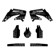 Honda CRF450 2002-2004 Woody graphics kit black highlight FREE SHIPPING!!!