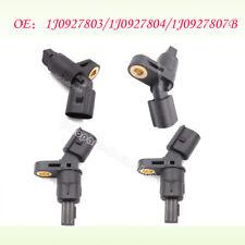 4pcs/set Fit VW AUDI MK4 Golf TT Beetle ABS Wheel Sensor Front /Rear Left /Right