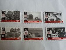 Isle of Man D Day The 70th Anniversary MNH, six stamps