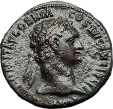DOMITIAN 92AD Rome MONETA Money Goddess Authentic Ancient Roman Coin i57882