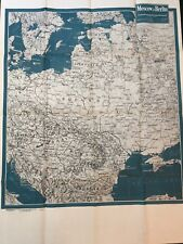 Newsmap 1944 vol 3 4F China Burma with map of Moscow to Berlin