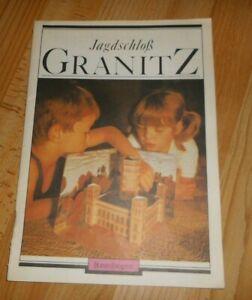 DDR  Jagdschloß Granitz bei Binz Insel Rügen + Bastelbogen + 1.Auflage 1988 rar