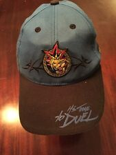 """YU-GI-OH! """"It's Time To Duel"""" Blue And Black Adjustable Baseball Cap/Hat TL7"""