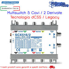 MULTISWITCH DCSS 16UB 2 OUT GT-SAT TV