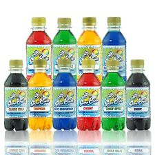 More details for premium snow cone slush puppy syrup 10 x 250 ml pack for use with all machines