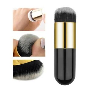 HOT Chubby Pier Foundation Makeup Brush in Professional Cosmetic BLACK Brush😍🔥