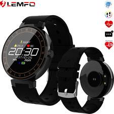 LEMFO Smartwatch Fitness Armband Pulsuhr Herzfrequenz Blutdruck Für Android iOS