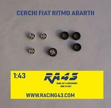 1/43 Cerchi Wheels Fiat Ritmo Abarth