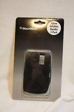 Genuine Blackberry Curve Gelskins 2-Pack - Black White - 8300 8310 8320 8330