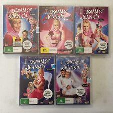 I Dream of Jeannie Complete Series 1,2,3,4 & 5 Barbara Eden Larry Hagman