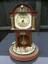 Vintage Bradford Edition Exchange Flying Scotsman Clock with Moving Train // 2