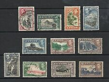 Used George VI (1936-1952) Ceylon Stamps