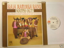 Baja Marimba Band PROMO LP Watch Out A&M 4118