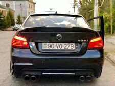 Carbon Fibre Boot Trunk Spoiler Wing Lip For BMW 5Series E60