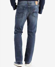 $134 Levi'S Men 513 Blue Straight Slim Fit Athletic Pants Denim Jeans 29 W 30 L