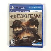 Bravo Team PlayStation VR (Sony PlayStation 4/PS4, 2018) Brand New/Sealed