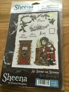 Sheena Douglas Christmas Stamps
