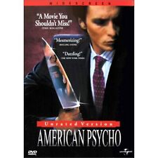 American Psycho (Dvd, 2000, Widescreen, Unrated Version) New