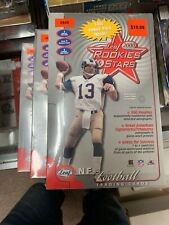 2000 Leaf Rookies and Stars Football Sealed Retail Blaster Box Tom Brady PSA 10?