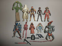 Modern Kenner Star Wars Action Figure and Accessory Weapon Lot L with Boba Fett