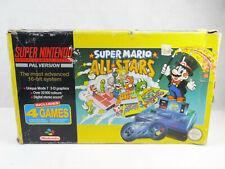 Super Nintendo SNES Super Mario All Stars Edition Console Boxed