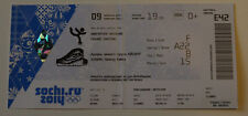 OLD TICKET Olympic Sochi 2014 Figure skating TEAM FINAL Russia Canada USA