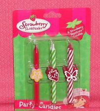 StrawBerry Short Cake Birthday Icon Candles,DecoPac,Multi-Color,Cake Decoration