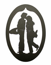 Western Wedding Cowboy Cowgirl Wall Plaque