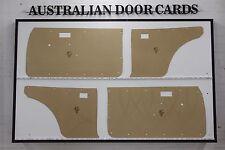 Toyota COROLLA 1970-1974 2 Door Coupe Door Cards. Blank Trim Panels. No Speakers