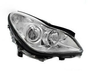 MERCEDES BENZ CLS W219 XENON HEADLIGHT RIGHT SIDE ASSEMBLED GENUINE OEM NEW
