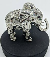 Bubbles the Elephant Paperweight Collectible Featuring Swarovski © Cry