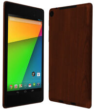 Skinomi Tablet Skin Dark Wood+creen Protector for Google Nexus 7 2013 (LTE)