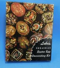 Luba's Ukranian Easter Egg Decorating Super Kit w/ 2 Kistky +Wax + 15 Dyes