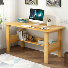 Yellow Computer Desk Pc Laptop Table Workstation Study Home Office Furniture <#>
