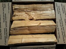 """Peach Wood 12"""" Logs for Smoking BBQ Grilling Cooking Smoker Priority Shipping"""