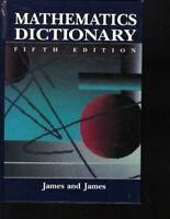Mathematics Dictionary (5th ed) by James, Robert C.