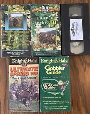 Knight & Hale vintage collectible Ultimate Hunting wild turkey videos