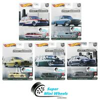 Hot Wheels Premium 2021 Car Culture B Case Fast Wagons Set of 5 Cars [Pre-Order]
