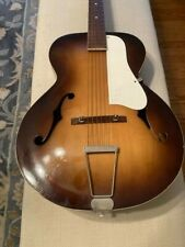 Vintage Silvertone Archtop Guitar (USA) and Case