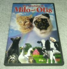 The Adventures of Milo and Otis DVD *RARE